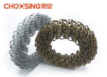 China 2.8mm - 3.0mm Upholstery Zig Zag Springs 82B / 70# Materials With High Load Bearing Capacity supplier