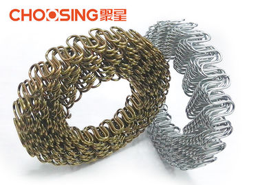 China 8 Gauge 120 Feet Sinuous Wire Springs Perfect Fit Upholstery Without Deformation supplier