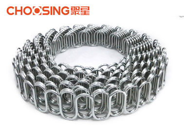 China S Shape Upholstery Zig Zag Springs 30 Meters Length High Carbon Steel Wire Materials supplier