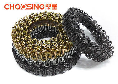 China Good Elasticity Replacement Chair Springs , No Sag Springs Upholstery Super Loop supplier