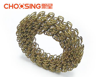 China 100ft Roll Continuous Zig Zag Springs 9 Gauge Serpentine Upholstery Springs Customized Size supplier
