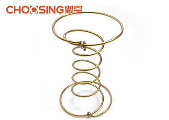 China 5 Turns Upholstery Supplies Coil Springs , Replacement Sofa Springs Installation Versatility supplier
