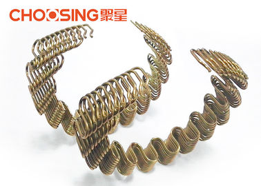 China Golden No Sag Springs Upholstery , Seat Springs In Furniture High Arch Framed supplier
