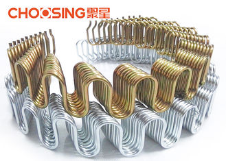 China Furniture Seat Zig Zag Sofa Springs 4.0mm Wire Thickness Loop Height 46 - 48mm supplier