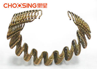 China 26 Inch 8.5 Gauge Tempered Steel Zig Zag Sofa Springs , Pre Cut Sinuous Seat Springs supplier