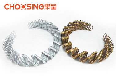 China Furniture Interior Precut Zig Zag Sofa Springs 9 Gauge Steel Wire Easy Installed supplier