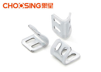 China Stable Working Couch Spring Clips , Zig Zag Spring Clips Fixed Clip Distances supplier