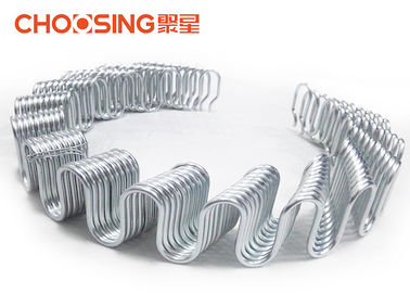 China Round 3.8mm Upholstery Zig Zag Springs OEM Accepted High Tension Snake Springs supplier