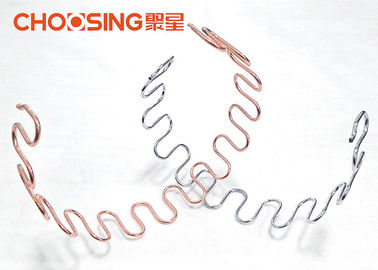 China Pre Cut 18 Inch Upholstery Zig Zag Springs 4.0mm Wire Diameter Sofa Inner Replacement supplier