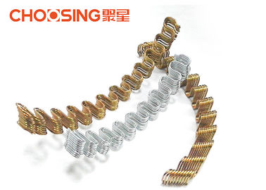 "China Anti Rust Silver Zig Zag Sofa Springs Precut 18"" Length Strong Load - Bearing Capacity supplier"