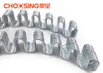 China Deep Arch 8 Gauge Zig Zag Springs , Repair Couch Springs Serpentine Super Loop / Functional supplier