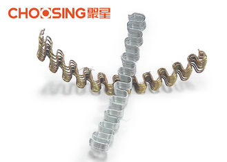 "China Precut 22"" Upholstery Zig Zag Springs 82B / 70# Material Galvanized Surface Treatment supplier"
