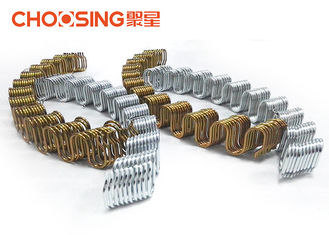 China High Carbon Steel Wire Sinuous Springs Replacement 3.8mm Wire Dia Furniture Sinuous Springs For Sofa supplier