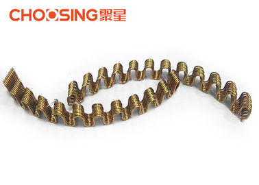 China Golden Precut Replacement Auto Seat Springs , Chair Seat Springs Galvanization Surface Treatment supplier