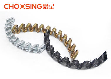 China High Arc 58cm Upholstery Seat Springs Loop Height 46 - 48mm Anti Rust Treatment supplier