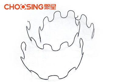 "China Excellent Elasticity Zig Zag Couch Springs , 25"" Sinuous Wire Springs Round Shaped supplier"