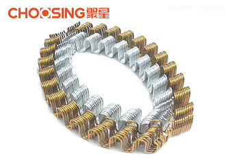 China 3.2mm Serpentine Springs For Furniture , 11 Gauge Replacement Settee Springs supplier