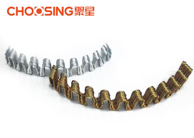 China 58cm Length Upholstery Tension Springs , Zig Zag Chair Springs Good Elasticity supplier
