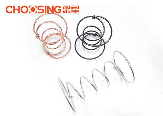 China 12cm Height Chair Coil Springs 8G - 12G Wire Diameter Sofa Bonnell Springs supplier