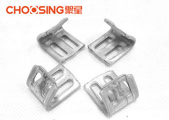 China Full Plastic Coating Upholstery EK Spring Clip , Metal Upholstery Clips Length 23mm supplier