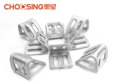 China Galvanized 23mm Upholstery Spring Clips 0.8 - 1.0mm Thickness Long Lifetime supplier