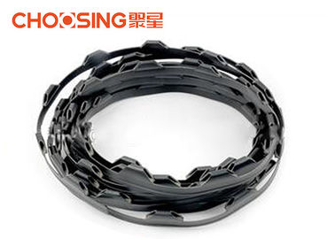 China 10cm Knot Distance Plastic Clip Strips Wear Resistant Soundless Under Strain supplier