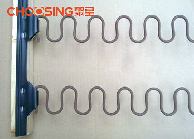 China Optimum Clip Distances Zig Zag Spring Hinge Strip 210 M/Roll Packed SGS Certificated supplier