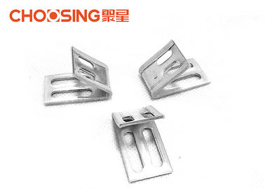 China Long Metal Upholstery EK Spring Clip , Sofa Spring Clips Parts Beautiful Appearance supplier