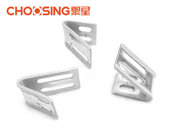 China 4 Hole Upholstery Sinuous Spring Clips 0.8 - 1.0mm Thickness Choosing Brand supplier