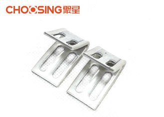 China 1.0mm Thickness Furniture Spring Clips For Attaching No Sag Spring To Frame supplier