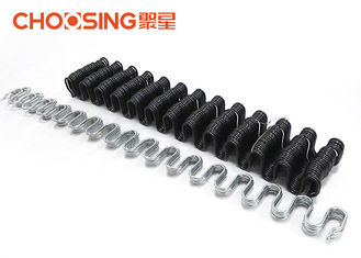 China Durable Flat Sofa No Sag Springs 3.6mm - 4.0mm Black Color With Anti Rust Treatment supplier