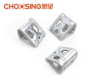 China High Durability Sinuous Spring Clips , Couch Spring Clips Metal Thickness 0.8mm - 1mm supplier