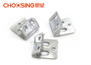 China Silver Color Zig Zag Spring Clips Heavy Steel Construction Environmental Friendly supplier