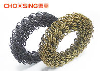 China Rust Resistant Replacement Furniture Springs , Upholstery Strap Springs Arc Height 8cm - 15cm factory