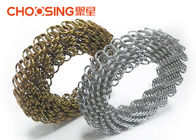 China Economical 3.6mm In Roll Furniture Upholstery Zig Zag Springs Nosag Springs Black Color factory