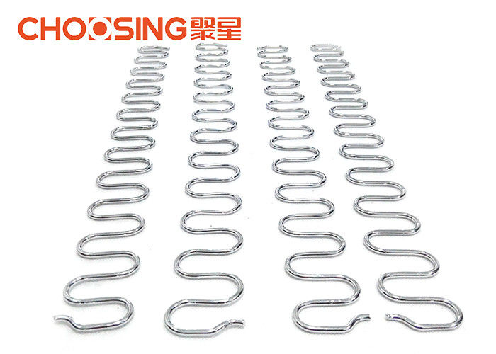 20 Inch 9 Gauge Zig Zag Springs , Sofa Cushion Spring Replacement Zinc  Plating Finished