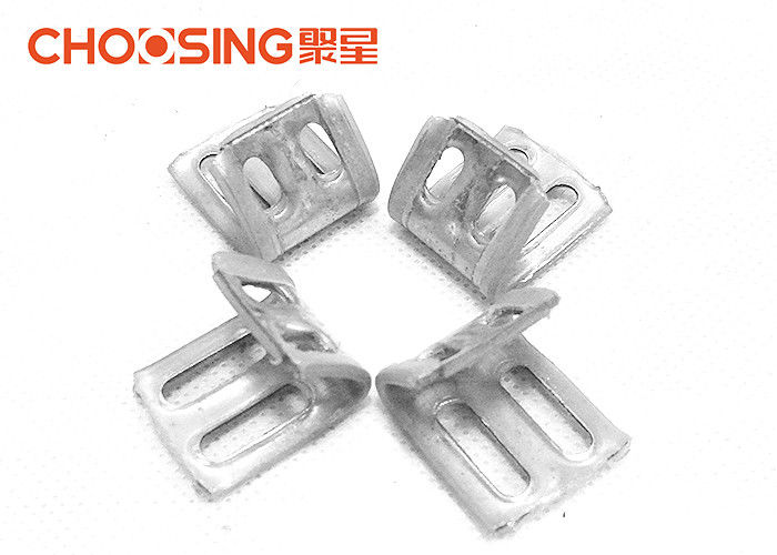 U Shaped Upholstery Spring Clips Fasteners 4 Holes Design Reducing ...