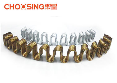 11 Gauge Zig Zag Sofa Springs Precut Curved Shape Excellent Rust Proof