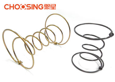 Galvanized 9 Gauge Furniture Coil Springs , Upholstery Strap Springs Edge Wire