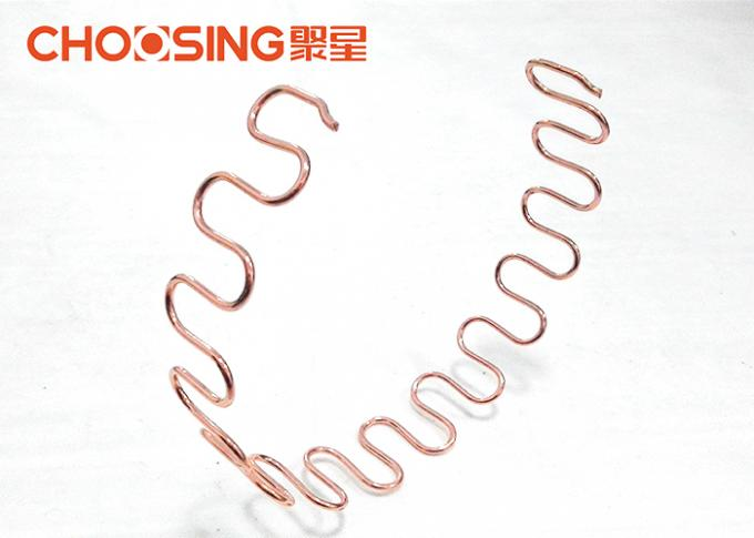 Pre Cut 18 Inch Upholstery Zig Zag Springs 4.0mm Wire Diameter Sofa Inner Replacement