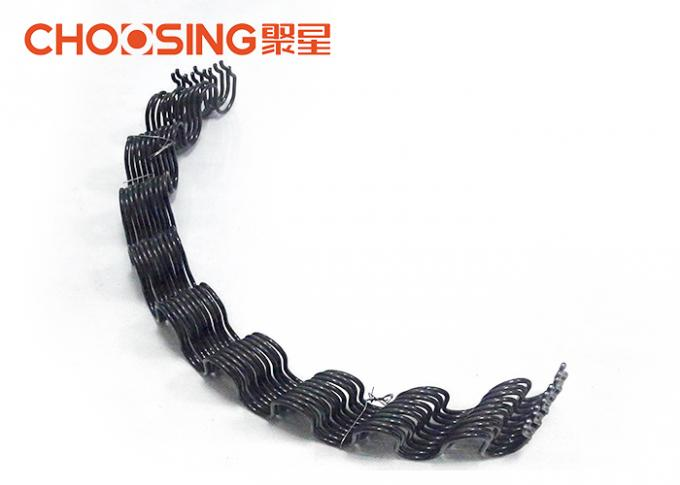 3.6mm Zig Zag Replacement Furniture Springs , Precut 25 Inch Sinuous Wire Springs In Curved