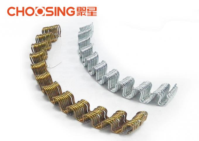 High Carbon Steel Wire Sinuous Springs Replacement 3.8mm Wire Dia Furniture Sinuous Springs For Sofa