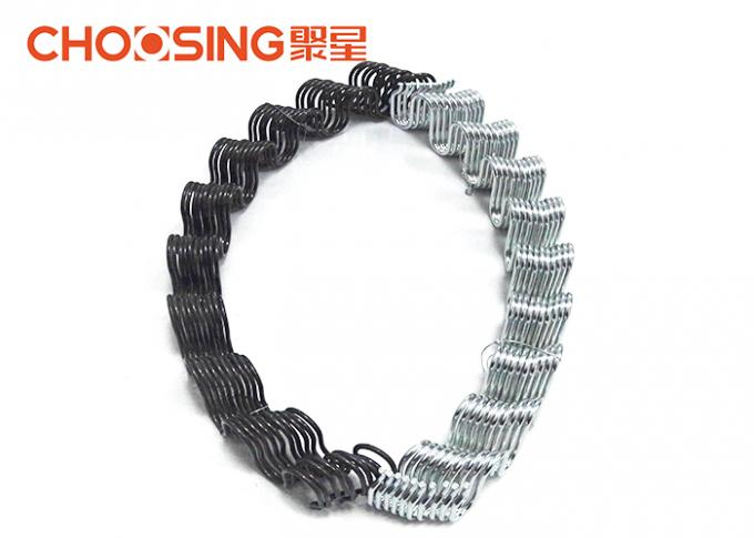 Golden Precut Replacement Auto Seat Springs , Chair Seat Springs Galvanization Surface Treatment