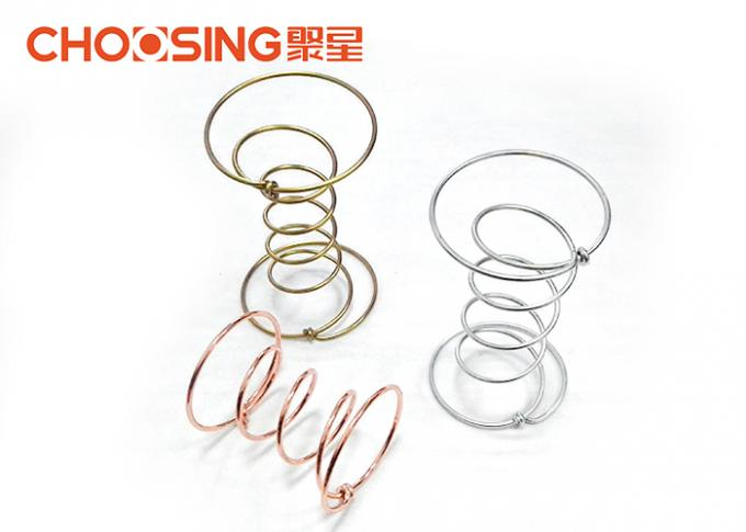 Silver Anti Rust Upholstery Coil Springs Free Design Construction For Sofa And Chair