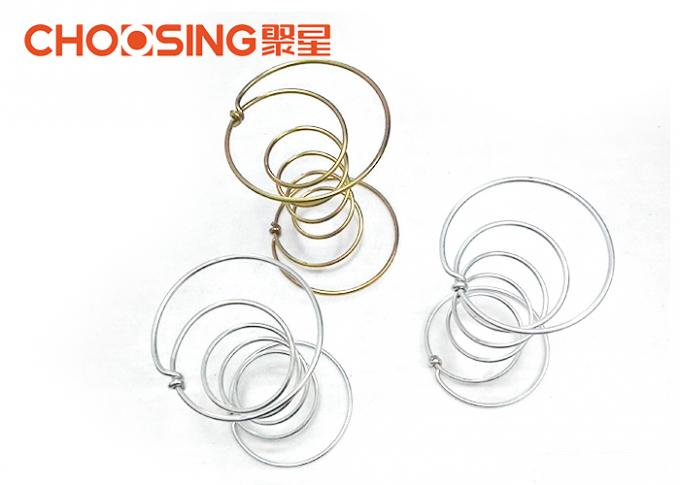 3.6mmx10cm Sized Upholstery Coil Springs 5 Turns High Tempered Spring Technology